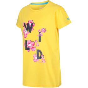 Regatta Bosley II T-Shirt Mädchen sunbeam